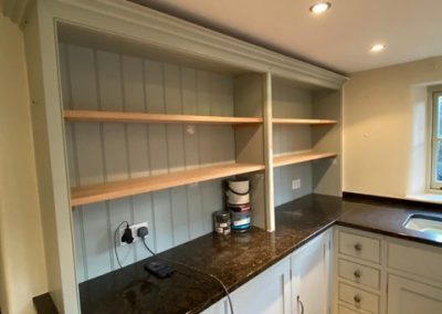 Carpentry For A Kitchen In Oxfordshire