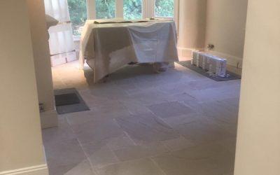 Limestone Flooring In Buckinghamshire