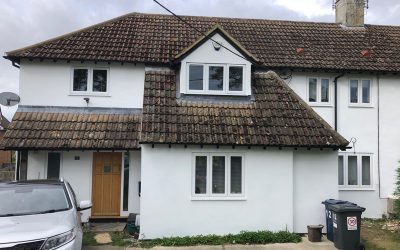 Exterior Painting Of House In Buckinghamshire