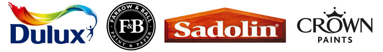Paint manufacturer logos