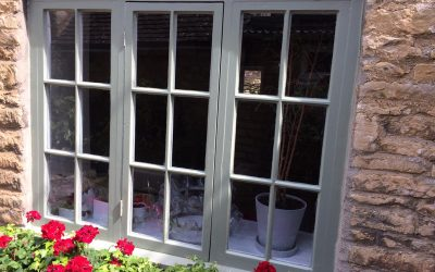 Repair Of Window In Charlbury, Oxfordshire