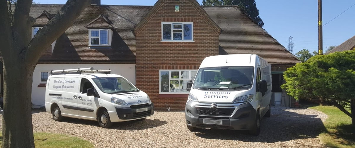 Windmill Services for property services in Oxon and Bucks
