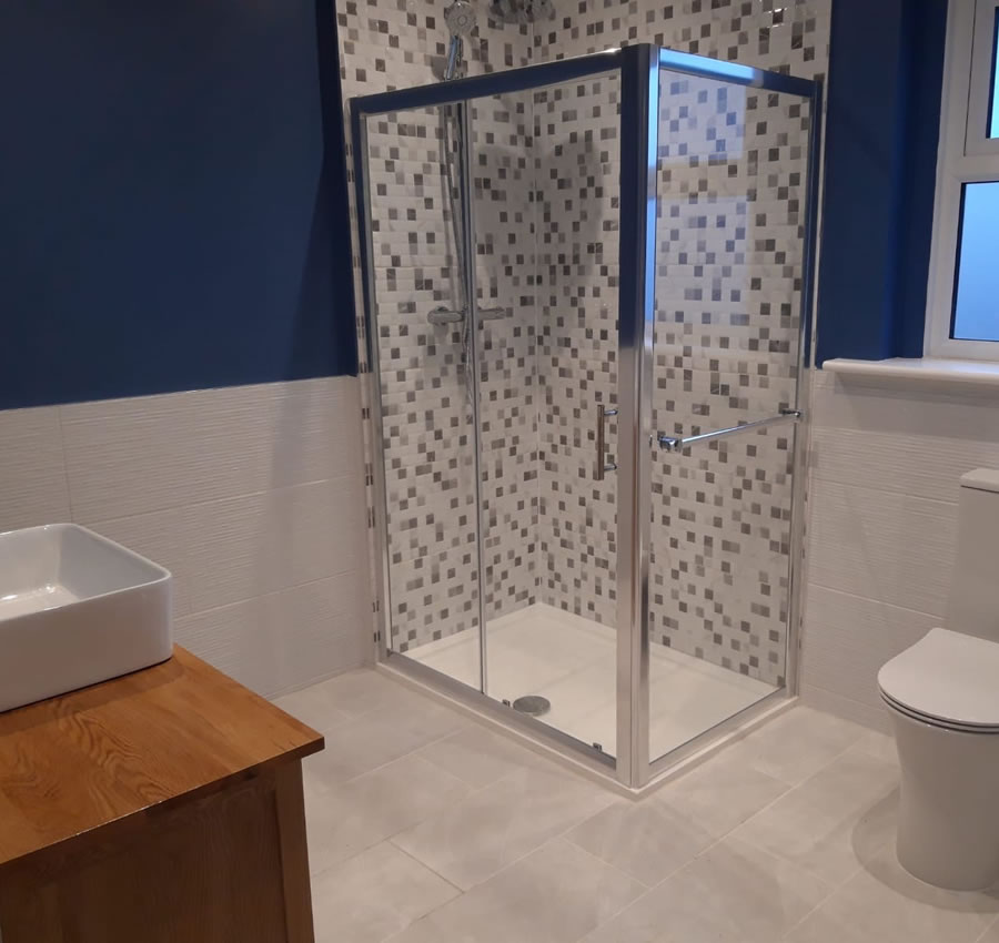 Bathrooms designed and installed in Oxford