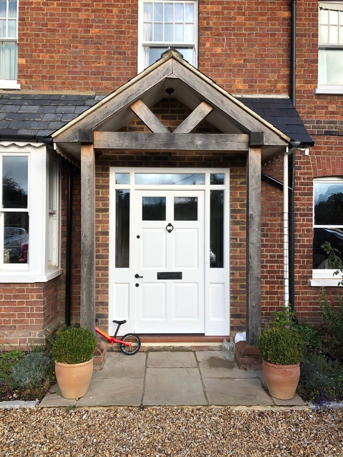carpentry for a home in the Chilterns