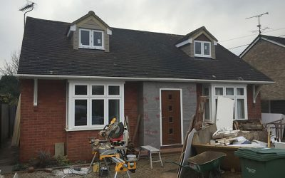 Loft Extension For A Bungalow In Oxford