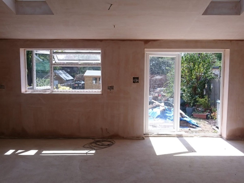 plastering for house in Bicester