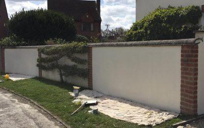 Wall Rendering & Painting In Haddenham