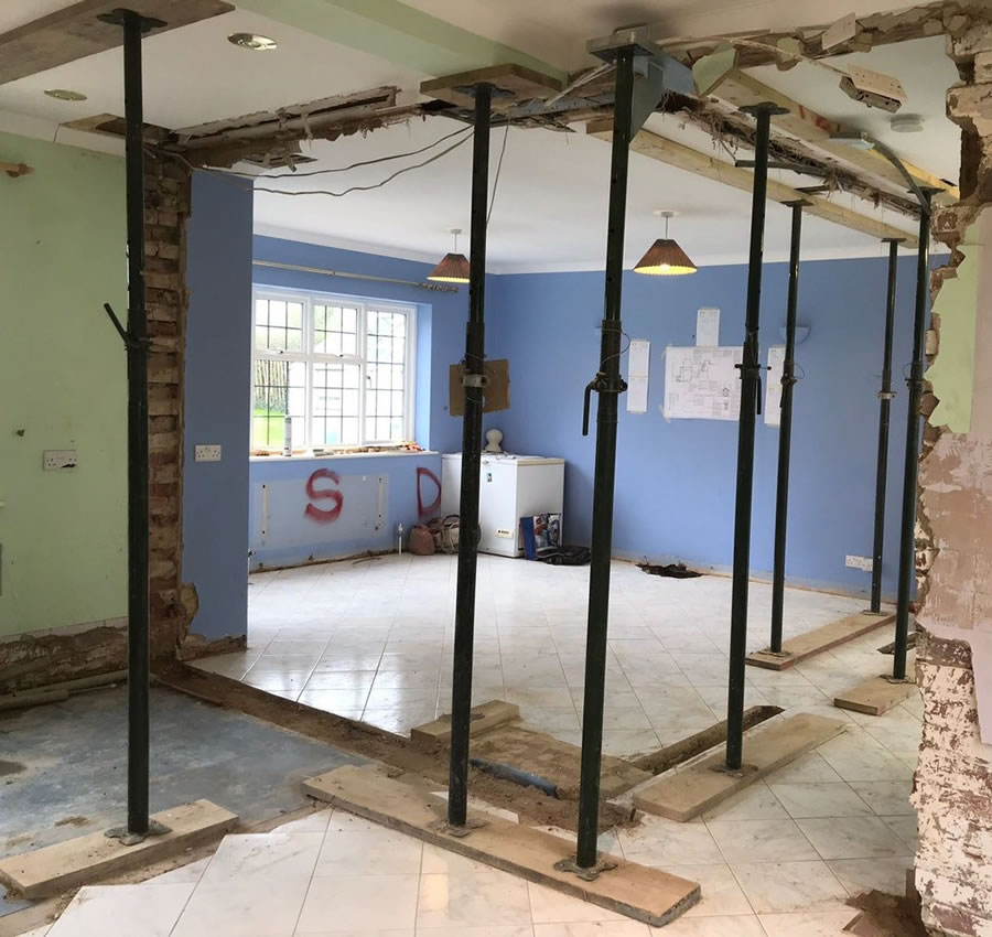 Renovation of property in Oxford