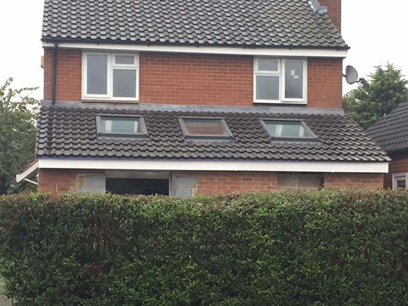 New Roof Extension For Home In Oxford