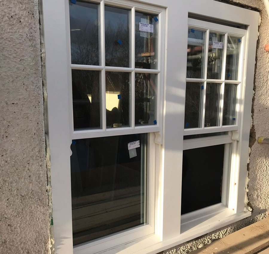Sash window replacement in Oxford