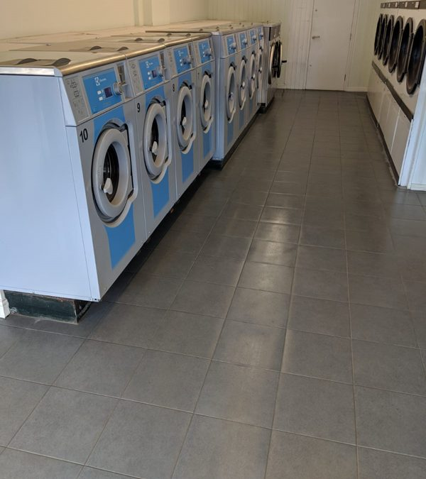 Tiling For A Launderette In Oxfordshire
