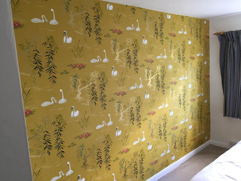 Wallpapering For A Home In Princes Risborough
