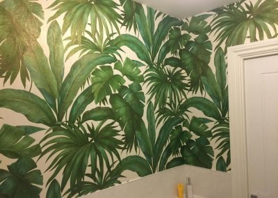 Bathroom Wallpapering In Thame