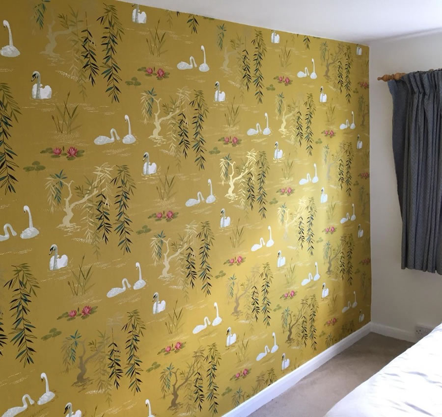 Wallpapering service in Oxford
