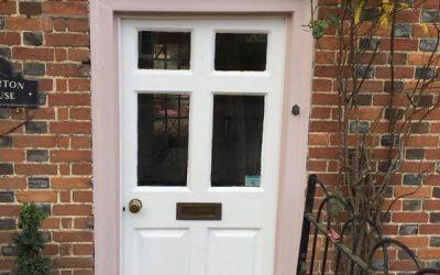 Painting Of Front Door In Oxfordshire
