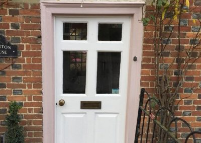 Painting Of Front Door In Oxfordshire