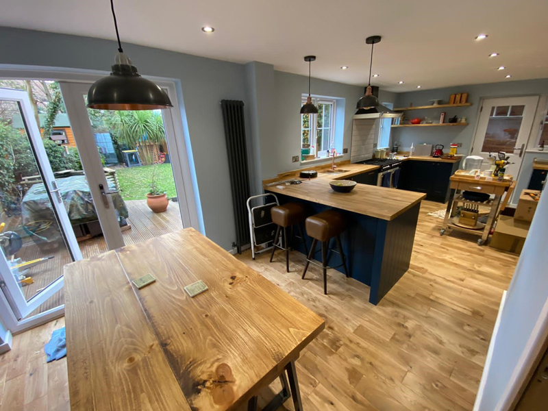 New Kitchen In Bicester