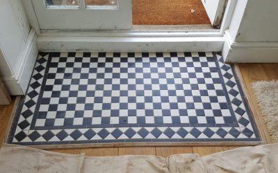 Mosaic Tiled Floor Mat – Oxford