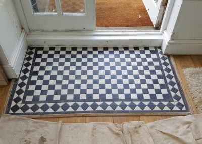 Mosaic Tiled Floor Mat – Oxford