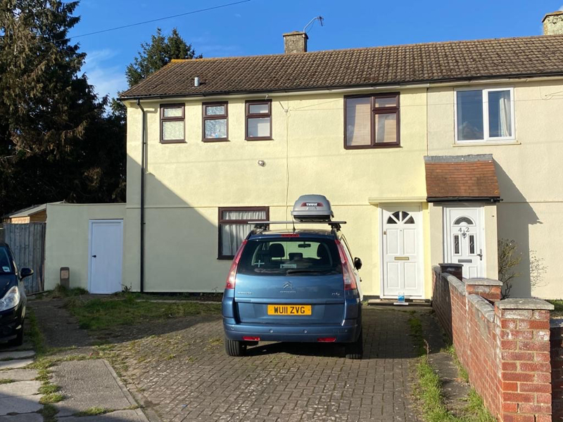 Exterior Painting Of House – Didcot