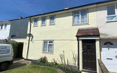 Exterior Painting Of House In Didcot