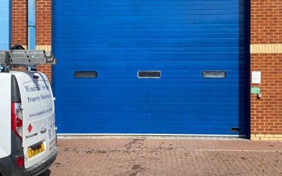 Roller Door Painted In Thame